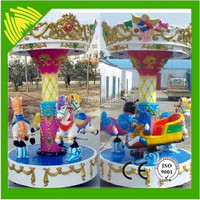 Amusement park machine merry go round child carousel toy for sale
