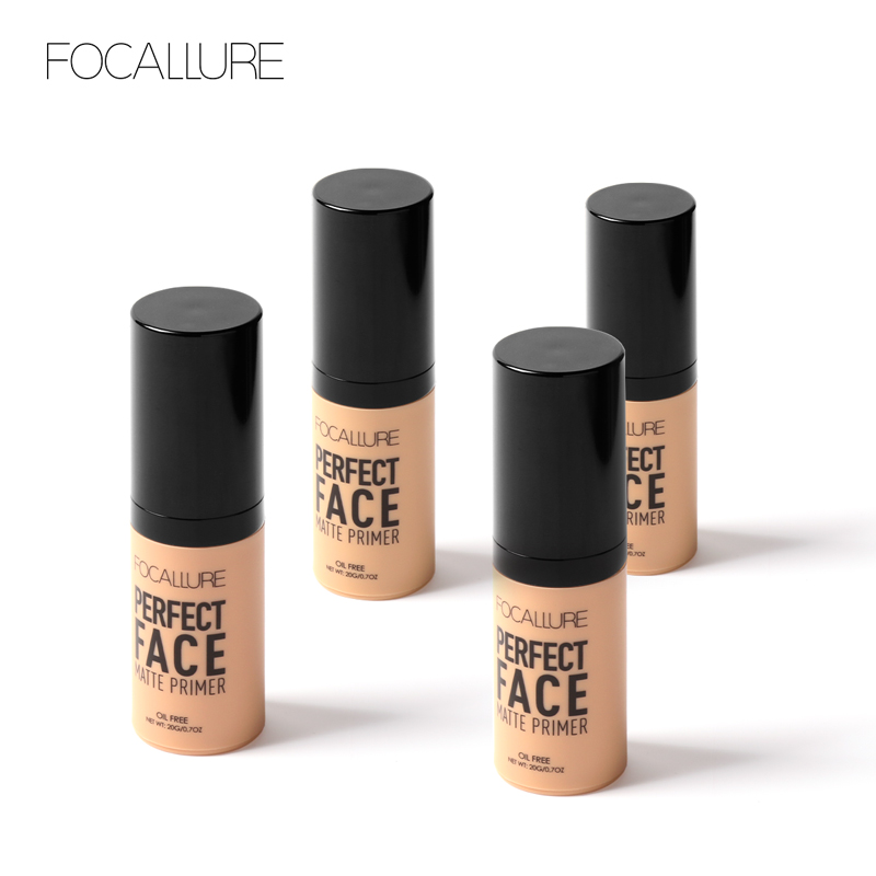 Focallure New Arrive Hot Sell Gift Items Low Cost Perfect Pore Covering Minimizer Natural <strong>Face</strong> Makeup Matte Foundation Primer