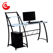 Latest design multi-purpose metal frame study cum computer table