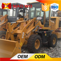 shovel type 4wd 40hp tractor with front end loader and backhoe