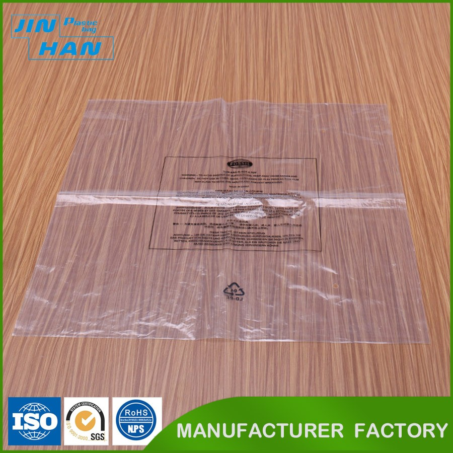Direct Factory Transparent Garment Packing Heat Seal Plastic Bag