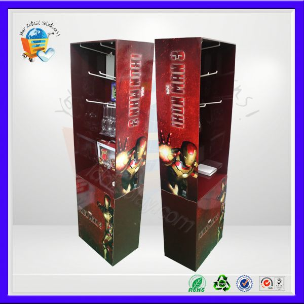 spa product display ,sound corrugated merchandise display ,soluble coffee display
