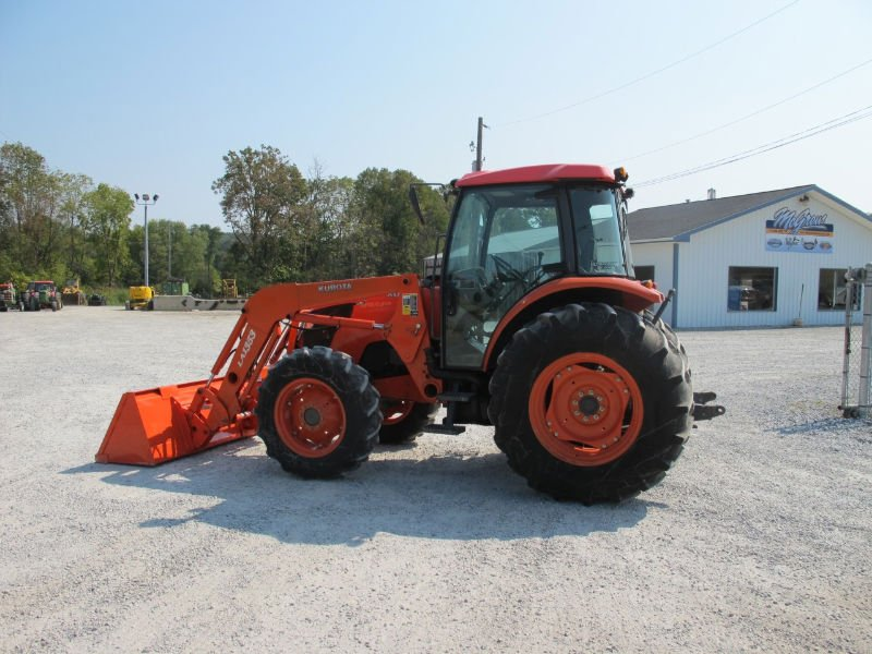 Accept paypal KUBOTA M9540 4x4 TRACTOR W/ULTRAGRAND CAB & LOADER