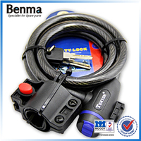 Hot sale bicycle locks , bike lock set