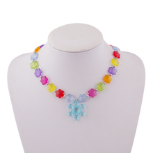 171013 hot sale coral Children jewelry set emerald ruby natural pearl latest design beads necklace
