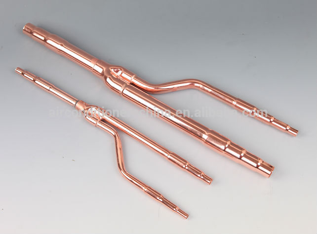 how to connect hex piping to copper piping
