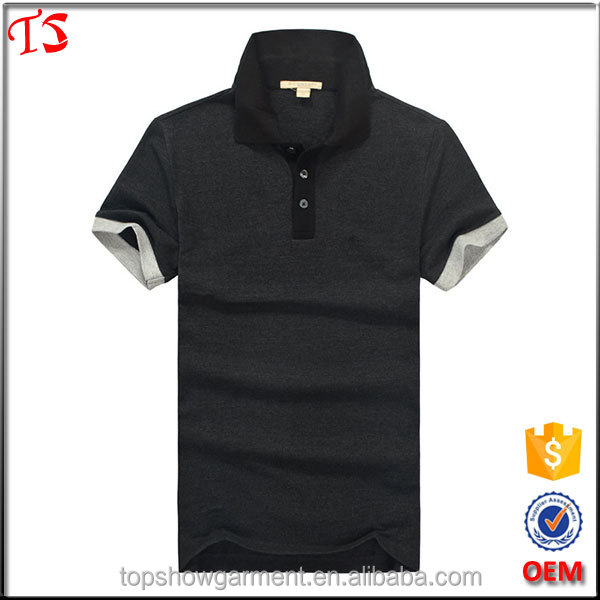 Dongguan clothing manufacturer design us short sleeve polo shirt embroidery