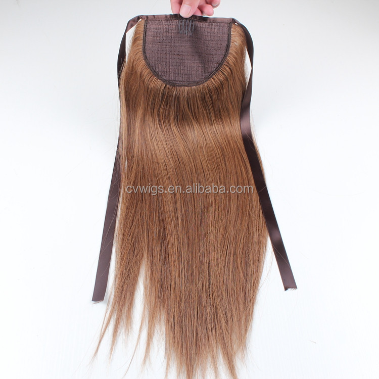 Online shopping no glue ponytail hair extension <strong>human</strong> in dubai