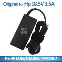 Laptop accessories for Hp charger adaptor 18.5V 3.5A 4.8*1.7mm yellow Connector