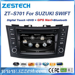 2 din Dual-core Touch Screen Car Radio DVD for suzuki swift car dvd gps navigation system,car CD bluetooth,music,Multi Languages