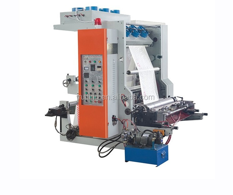 TY series single 1 color small flexo printing machine for PE/PP/LDP film paper packing bag printer