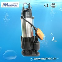 Low price promotion electric centrifugal submersible sewage water pump