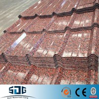 Roofing Metal Secondary PPGI Corrugated Steel Sheet