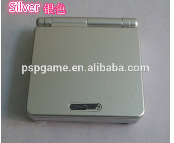 original second-hand gameconsole for gameboy sp frontli