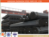 ASTM,DIN,JIS standardERW welded Pipe/tube round hollow sections
