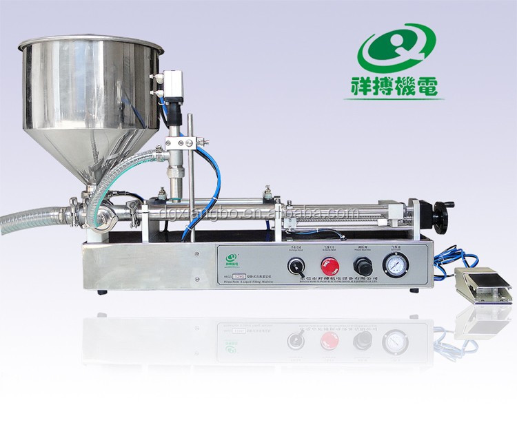 High accuracy semi-automatic pneumatic honey stick filling machine