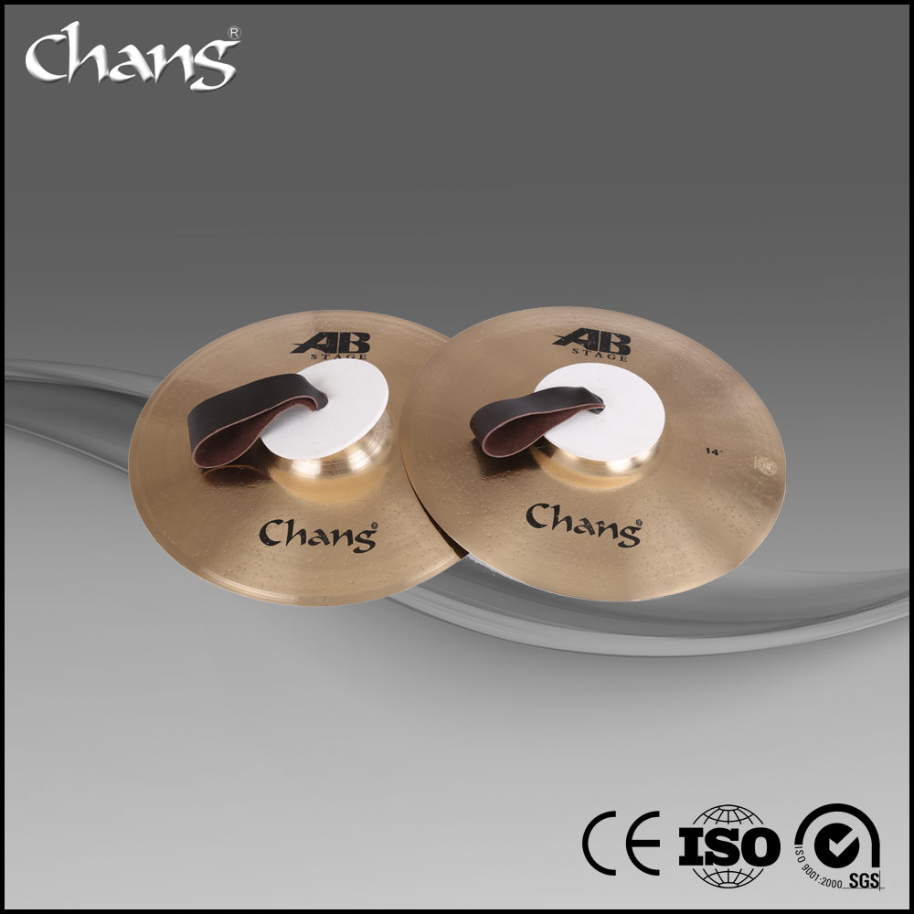 Musical Instruments Chang Cymbals set Marching Cymbal for Drum set