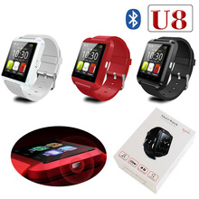Sport water resistant bluetooth smart u8 watch touch screen watch mobile phone mtk 6261 gsm wrist smart watch phone