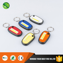 Mini Carabiner Led Keychain Flashlight COB Light