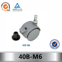 40B-M6 caster with side brake
