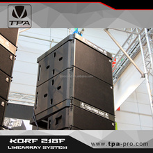 KORF 218F flying subwoofer/line array sub speaker/fly bass speaker