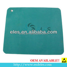 Factory new durable high quality esd rubber mat/esd green table mat rubber antistatic table mat