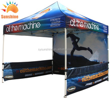 3x3 high quality 32mm steel frame sublimation printing easy up events party tent auto top tent