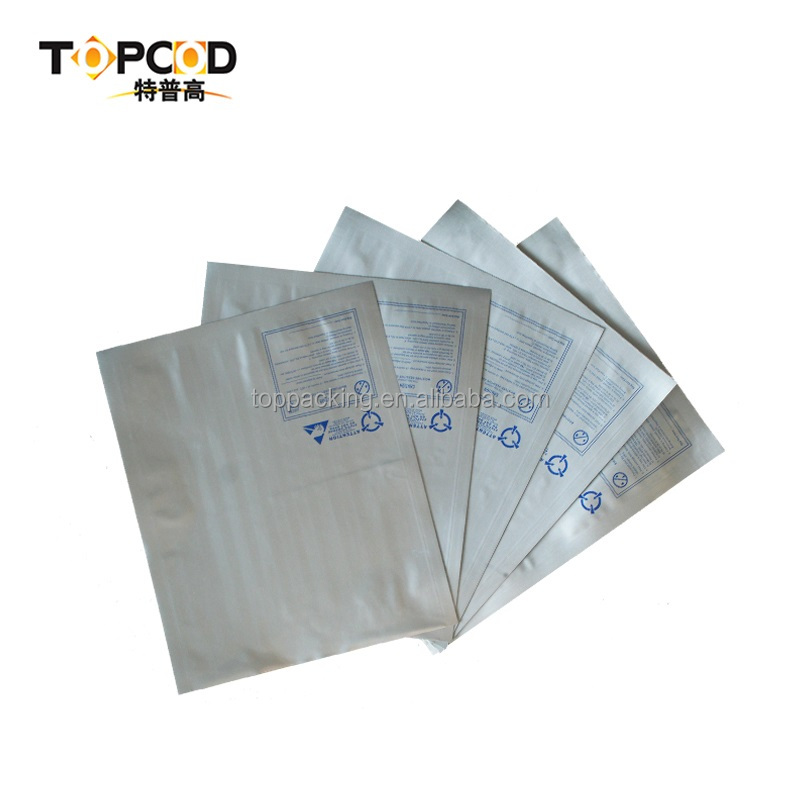 Hot sell PCB plate flat - mouth aluminum foil packaging bag