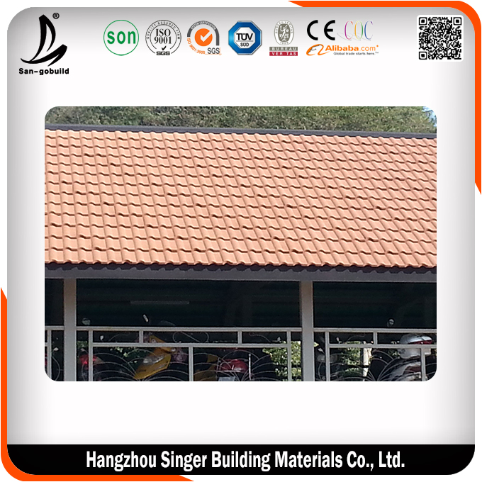 2015 new design metal sheet roof tile, hot sale copper roof sheet