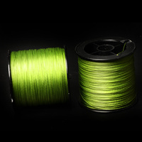 MEIRENYU 300M 100% braided fishing line 8 weave green color used for wholesale