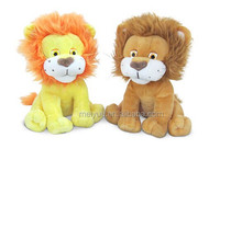 Wholesale plush material toy forest king lion/High quality stuffed animal/Plush toy