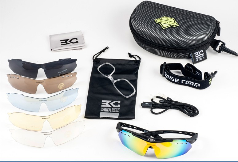 Men Women Bike Bycicle Ccycling Eyewear Polarized Sunglass Sunglasses Goggles Sports 5 Lens