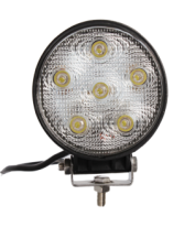 18w,1200lumens,LED Work Light For Auto,6000k Color temp Round LED Driving Light For Truck