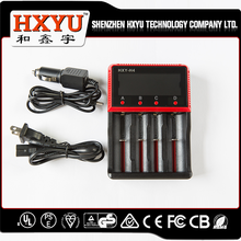 HXY-18650-C4 AC100-240/47-63hz battery charger for programming/intelligent battery charger