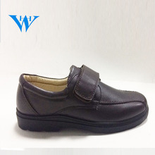 kids shoes manufacturer China black school shoes for boy