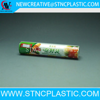 disposable fresh fruit food PE transparent plastic bags on roll