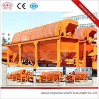 High efficiency slurry vibrating rotary screen