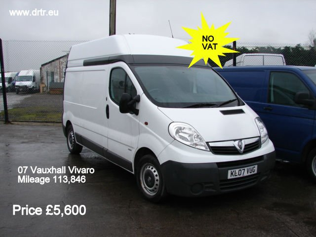 OPEL VIVARO CDTI LWB closed box minibus for sale