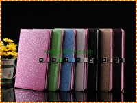 Luxury Diamond Pattern Hardware buckle Stand Wallet Pu Leather case For iPad Mini 4