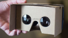 Hot selling video cardboard 3d vr glasses with great price