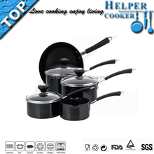 Popular products cooker tool sets with non stick fry pan, saucepan and casseroles