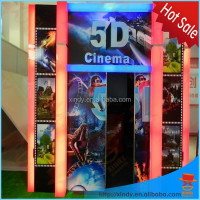 5D cinema equipment Type truck mobile 5d cinema