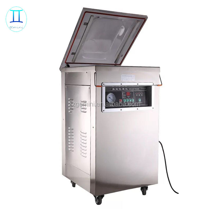Stainless steel dz300 vacuum packing machine, vacuum sealer machine