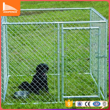 Heavy duty galvanized welded wire outdoor large dog kennel wholesale