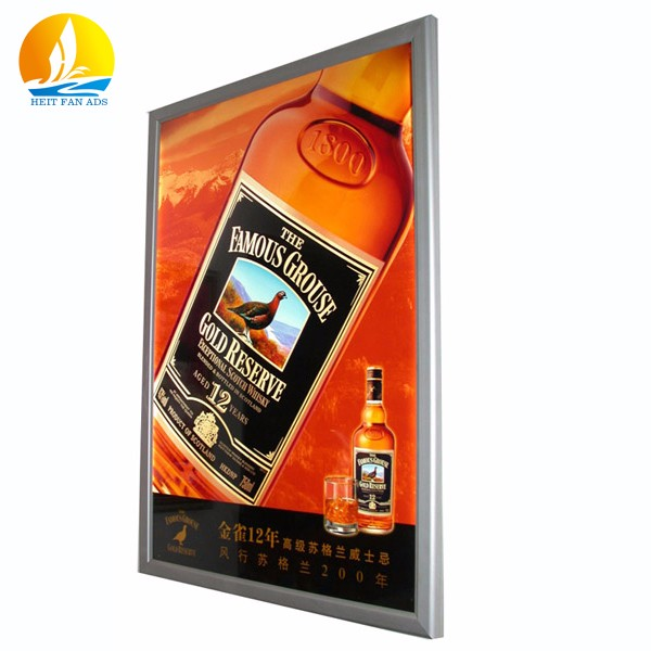 light box menu board brightness grade aluminium profile light box high quality frameless led light box