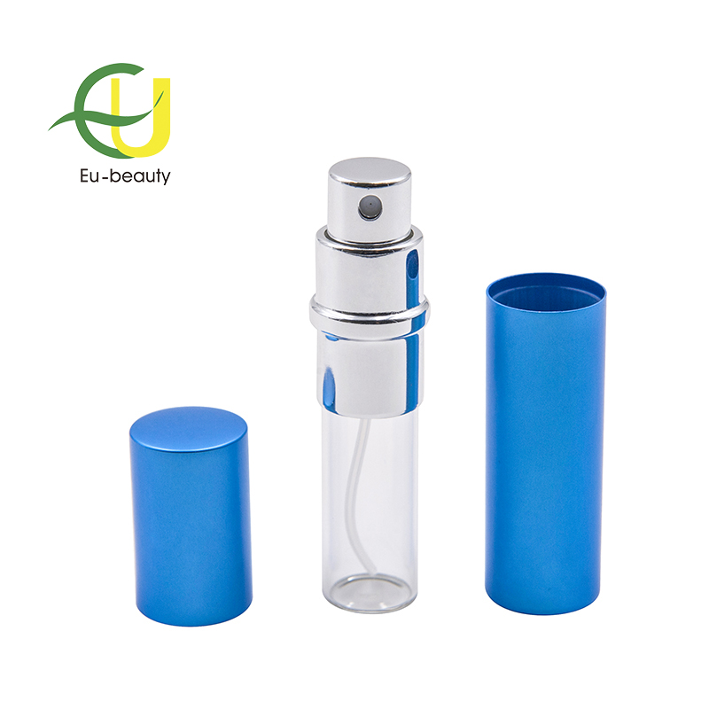 5ml blue aluminum spray bottle sprayer atomiser