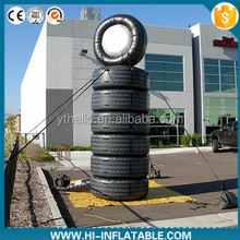 Hot sale inflatable tyre/tire model for advertising/inflatable replicas tire