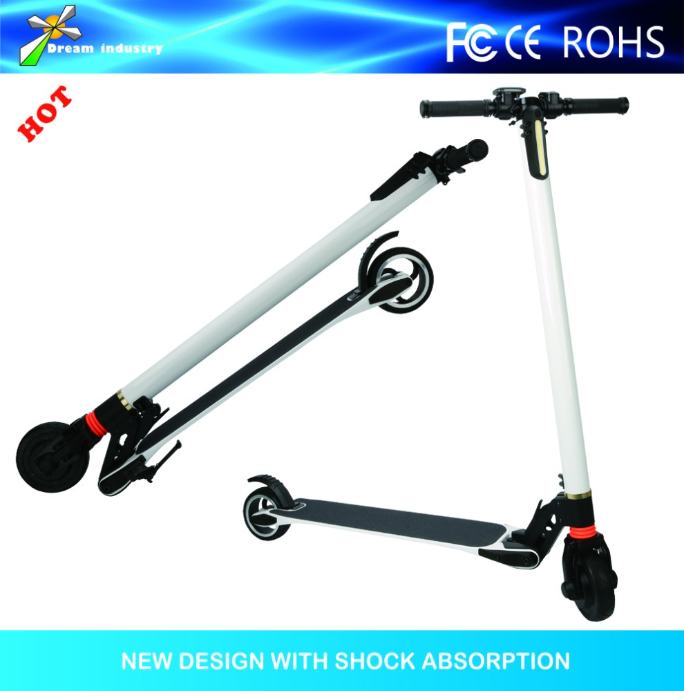 City Eco 20 Mph 2 wheel Stand Up Folding Mini Hub Motor Wheel Ecorider Electric Roller Scooter