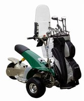 Popular Golf Buggy Sport Folding Powered Golf Cart Golf Cruiser (SX-E0906-3A)green