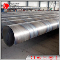 Spiral Welded Steel Pipe For Oil And Gas Manufacturing